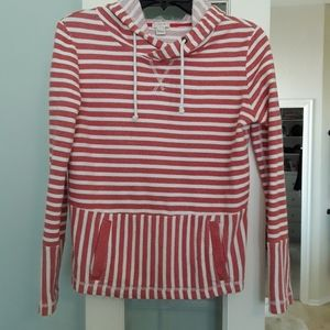 Jcrew factory striped nautical pullover
